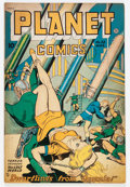 Golden Age (1938-1955):Science Fiction, Planet Comics #53 (Fiction House, 1948) Condition: FN-....