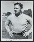 Football Collectibles:Photos, Late 1930's Curly Lambeau Original Photograph - Definitive Image of the Packers Founder....