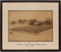 "Militaria:Ephemera, Photograph of the""The 76th, 2nd Battalion, Duke of Wellington's(West Riding) Regiment, India, 1899""...."