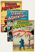 Golden Age (1938-1955):Science Fiction, Strange Adventures Group (DC, 1954).... (Total: 9 Comic Books)