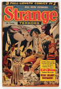 Golden Age (1938-1955):Horror, Strange Terrors #7 (St. John, 1953) Condition: VG....