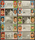 Baseball Cards:Lots, 1912 T202 Hassan Triple Folders Collection (19) With HoFers! ...