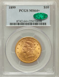 Liberty Eagles, 1899 $10 MS64+ PCGS. CAC....