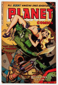 Golden Age (1938-1955):Science Fiction, Planet Comics #72 (Fiction House, 1953) Condition: FN-....