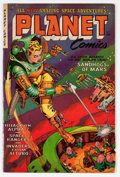 Golden Age (1938-1955):Science Fiction, Planet Comics #71 (Fiction House, 1953) Condition: VG/FN....