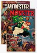 Golden Age (1938-1955):Horror, Monster #1 and 2 Group (Fiction House, 1953).... (Total: 2 ComicBooks)
