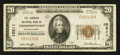 National Bank Notes:Pennsylvania, Thompsontown, PA - $20 1929 Ty. 1 The Farmers NB Ch. # 10211. ...