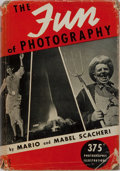 Books:Photography, [Photography]. Mario and Mabel Scacheri. The Fun of Photography. Harcourt, Brace, 1938. Publisher's cloth with light...