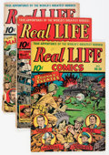 Golden Age (1938-1955):Non-Fiction, Real Life Comics Group (Nedor Publications, 1941-52) Condition:Average GD/VG.... (Total: 16 Comic Books)