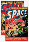 Golden Age (1938-1955):Science Fiction, Space Squadron #2 and 4 Group (Atlas, 1951).... (Total: 2 ComicBooks)