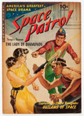 Golden Age (1938-1955):Science Fiction, Space Patrol #1 (Ziff-Davis, 1952) Condition: VG....