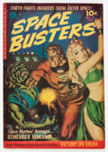 Golden Age (1938-1955):Science Fiction, Space Busters #2 (Ziff-Davis, 1952) Condition: VG/FN....