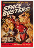 Golden Age (1938-1955):Science Fiction, Space Busters #1 (Ziff-Davis, 1952) Condition: VG/FN....