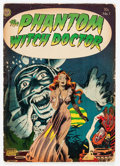 Golden Age (1938-1955):Horror, The Phantom Witch Doctor #1 (Avon, 1952) Condition: GD-....