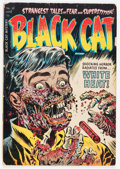 Golden Age (1938-1955):Horror, Black Cat Mystery #50 (Harvey, 1954) Condition: GD-....