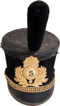 Militaria:Helmets, Maryland National Guard Shako....