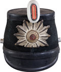 Military & Patriotic:WWI, German Post-WWII City of Bremen Police Shako Converted From a WWII Example....
