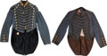 Militaria:Uniforms, Two Nineteenth Century Militia/National Guard Swallowtail Uniform Jackets. ... (Total: 2 Items)