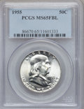 Franklin Half Dollars: , 1955 50C MS65 Full Bell Lines PCGS. PCGS Population (1248/144).Numismedia Wsl. Price for problem free ...