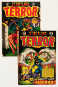 Golden Age (1938-1955):Horror, Startling Terror Tales Group (Star Publications, 1952).... (Total:2 Comic Books)