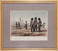 "Militaria:Ephemera, ""The British Army at the Seat of War: No. 1 the Guards__theOutpost"" print by A. Laby...."