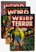 Golden Age (1938-1955):Horror, Weird Terror Group (Comic Media, 1952-54).... (Total: 8 ComicBooks)