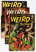 Golden Age (1938-1955):Horror, Weird Thrillers #1-5 Group (Ziff-Davis, 1951-52).... (Total: 5Comic Books)