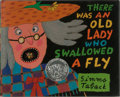 Books:Children's Books, [Children's Illustrated]. Simms Taback. INSCRIBED. There Was anOld Lady Who Swallowed a Fly. Viking, 1997. Later pr...