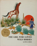 Books:Children's Books, [Children's Illustrated]. Paul Goble. INSCRIBED. The Girl WhoLoved Wild Horses. Bradbury Press, 1978. Later pri...