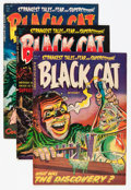 Golden Age (1938-1955):Horror, Black Cat Mystery #46-48 Group (Harvey, 1953-54) Condition: AverageFN.... (Total: 3 Comic Books)