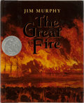Books:Children's Books, [Children's Illustrated]. Jim Murphy. INSCRIBED. The GreatFire. Scholastic, 1995. Later printing. Signed and insc...
