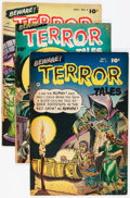 Golden Age (1938-1955):Horror, Beware Terror Tales #2-8 Group (Fawcett Publications, 1952-53)Condition: Average VG+.... (Total: 7 Comic Books)