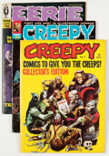 Magazines:Horror, Creepy/Eerie Group (Warren, 1964-80) Condition: Average VG.... (Total: 14 Comic Books)
