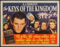 "Movie Posters:Drama, The Keys of the Kingdom (20th Century Fox, 1944). Half Sheet (22"" X28""). Drama.. ..."