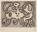 Prints:European Modern, JOAN MIRÓ (Spanish, 1893-1983) and five other artists. Laurels,Number One, May 1947. Portfolio of six tipped-in or full...