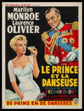 """Movie Posters:Romance, The Prince and the Showgirl (Warner Brothers, 1957). Trimmed Belgian (14.5"""" X 19""""). Romance.. ..."""