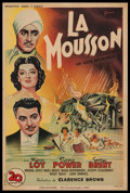 "Movie Posters:Adventure, The Rains Came (20th Century Fox, R-1946). French Petite (15"" X23""). Adventure.. ..."