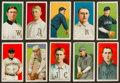 "Baseball Cards:Lots, 1909-11 T206 White Borders Tobacco Card Collection (10) - All""Sovereign"" Backs!..."