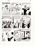 "Original Comic Art:Complete Story, Russ Heath The Big Book of Hoaxes Complete 3-Page Story""Fritz Kreisler: Manufacturing Musical Masterpieces"" Origi..."