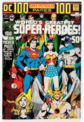 Bronze Age (1970-1979):Superhero, DC 100-Page Super Spectacular #6 World's Greatest Super-Heroes (DC, 1971) Condition: VF....