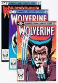 Modern Age (1980-Present):Superhero, Wolverine #1-4 Group (Marvel, 1982) Condition: Average NM....(Total: 4 Comic Books)