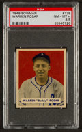 Baseball Cards:Singles (1940-1949), 1949 Bowman Warren Rosar #138 PSA NM-MT+ 8.5....