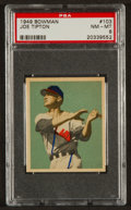 Baseball Cards:Singles (1940-1949), 1949 Bowman Joe Tipton #103 PSA NM-MT 8....