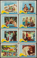 """Movie Posters:Adventure, Boy on a Dolphin (20th Century Fox, 1957). Lobby Card Set of 8 (11""""X 14""""). Adventure.. ... (Total: 8 Items)"""