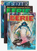 Magazines:Horror, Eerie Group (Warren, 1966-81) Condition: Average FN.... (Total: 16 Comic Books)
