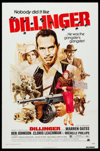 """Dillinger & Others Lot (American International, 1973). One Sheets (22) (27"""" X 41"""") & Mini Lobby Cards..."""