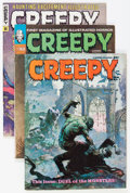 Magazines:Horror, Creepy Group (Warren, 1965-81) Condition: Average FN.... (Total: 29 Comic Books)