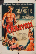 "Movie Posters:Adventure, Caravan (Eagle Lion, 1947). One Sheet (27"" X 41""). Adventure.. ..."