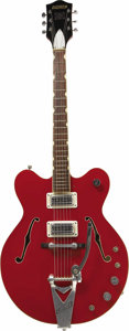 """Musical Instruments:Electric Guitars, Monkees 1967 """"Rock & Roll Model"""" Gretsch Hollowbody ElectricGuitar In 1966, the year that the Monkees TV show debuted on NB...(Total: 1 Pieces Item)"""