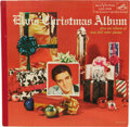 "Music Memorabilia:Recordings, ""Elvis' Christmas Album"" LP (RCA 1035, 1957). With its colorful Christmas motif front cover, full-color photoback of Elvis, ... (Total: 1 Item)"